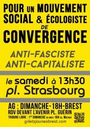 Pour un mouvement social et écologiste de convergence