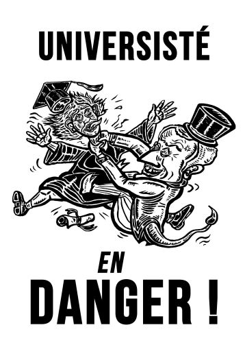 Université en danger