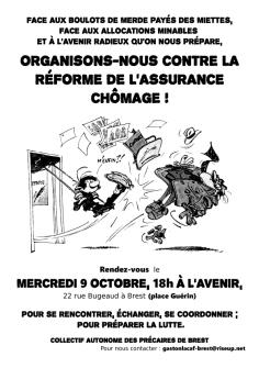 affiche assemblée du 09_10' à L'Avenir sur l'assurance chômage- Copie copie