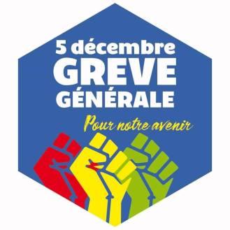 5 décembre Grève générale Pour notre avenir