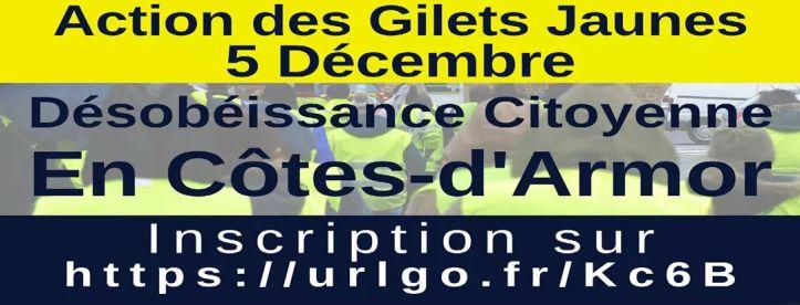 Désobéissance citoyenne en Côtes-d'Armor