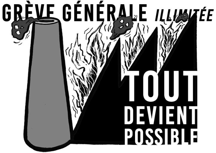 Grève générale 5-12 Tout devient possible