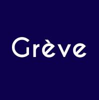 logo Grève BLEU MARINE