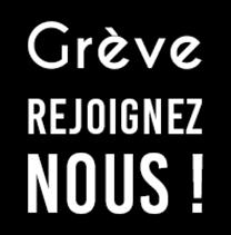 logo Grève Rejoignez-nous !