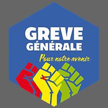 Grève générale Pour notre avenir FOND gris