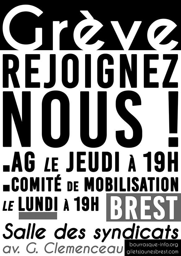 Grève Rejoignez-nous