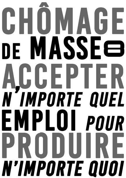 Chômage de masse