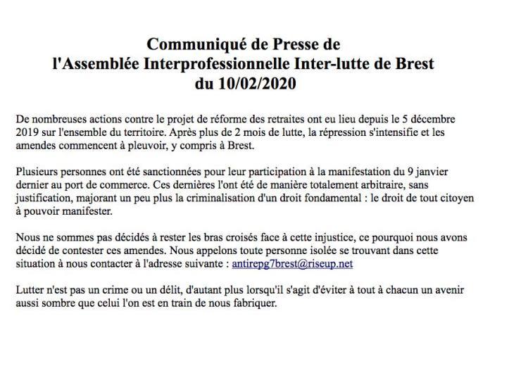 Communiqué 10-02-2020 AG inter-pro inter-luttes