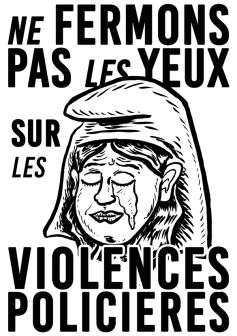 Ne fermons pas les yeux sur es violences policières 2020