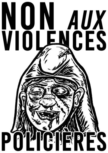 Non aux violences policières 2020