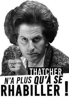 Thatcher n'a plus qu'à se rhabiller