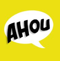 logo Ahou JAUNE