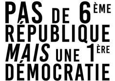 Pas de 6ème république