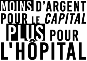 Moins d'argent pour le capital Plus pour l'hôpital