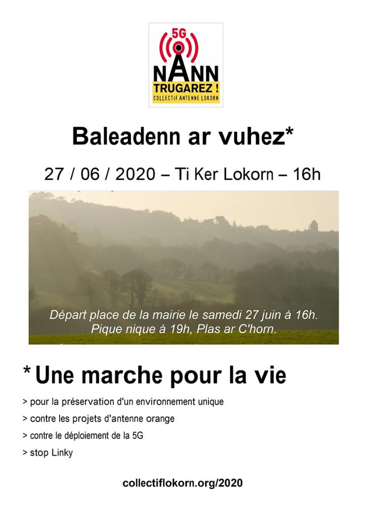 Affiche Marche du 27 juin