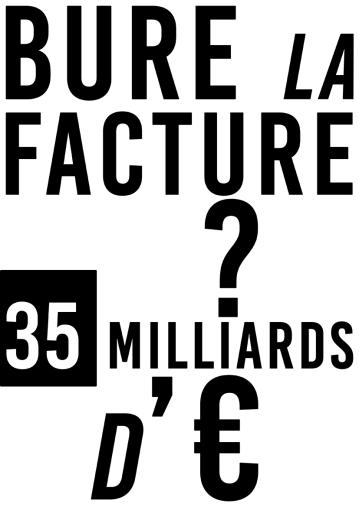 Bure la facture 35 milliards d'euros