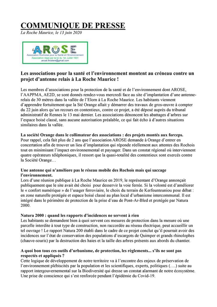 Communique_AROSE_AAPPMA-1