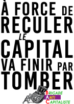 À force de reculer Le capital va finir par tomber BAC RVB