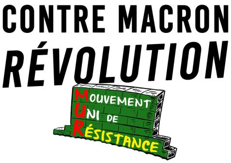 Contre Macron Révolution RVB