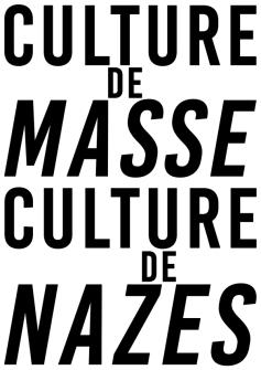 Culture de masse Culture de nazes NB