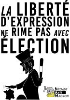 La liberté d'expression Ne rime pas avec élection BAM NB