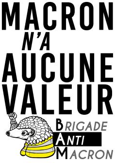 Macron n'a aucune valeur BAM RVB