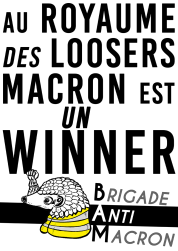 Au royaume des loosers Macron est un winner BAM RVB