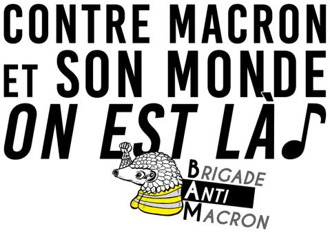 Contre Macron et son monde On est là BAM RVB