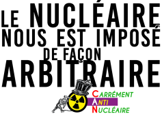 Le nucléaire nous est imposé de façon arbitraire RVB BAC