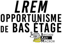 LREM opportunisme de bas étage BAM RVB