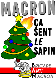 Macron ça sent le sapin BAM RVB