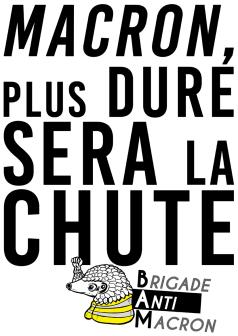 Macron, plus dure sera la chute BAM RVB