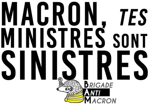 Macron, tes ministres sont sinistres BAM RVB