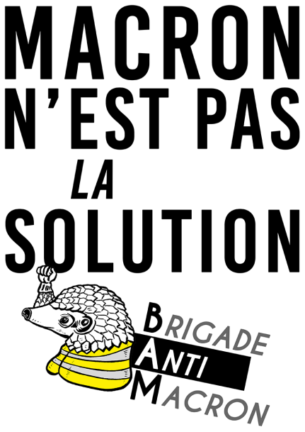 Macronn'est pas la solution BAM RVB