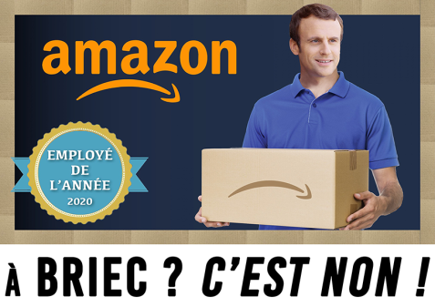 Amazon à Briec C'est non !