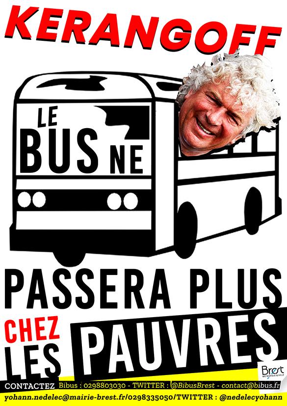 Kerangoff Le bus ne passera plus chez les pauvres AVEC CONTACTS