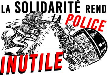 La solidarité rend la police inutile