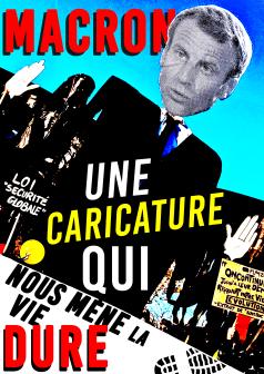 Macron Une caricature qui nous mène la vie dure