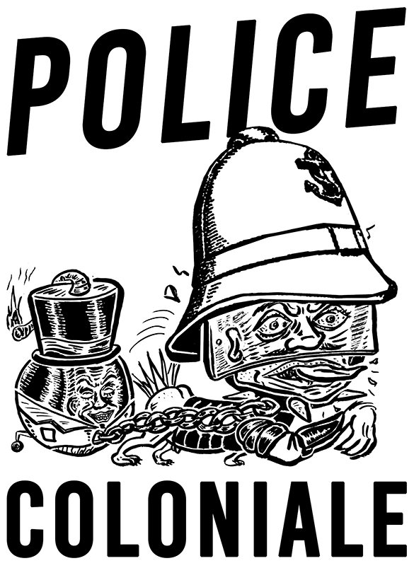Police coloniale