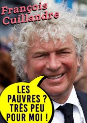 François Cuillandre Les pauvres Très peu pour moi !
