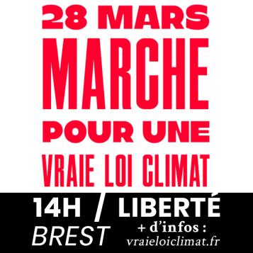 Marche Climat 28 mars 600-600px INSTAGRAM-FB rouge et noir