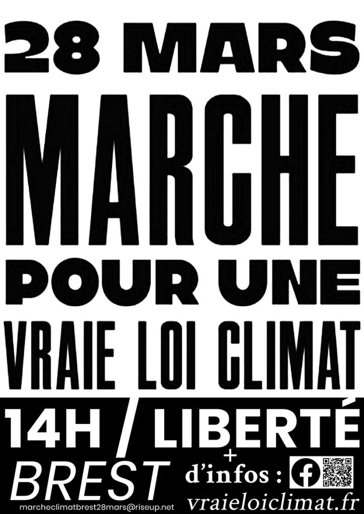Marche Climat 28 mars NB + mail