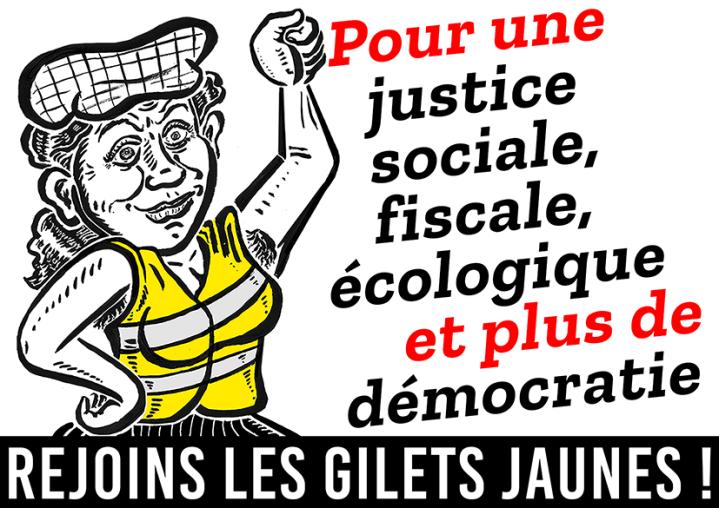 Pour une justice sociale, fiscale... Rejoins les GJ RVB
