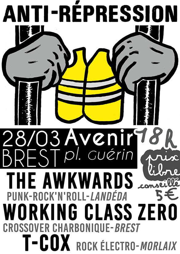 Concert Anti Répression 28 mars WEB
