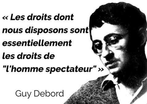 Les droits que nous disposons - G.Debord