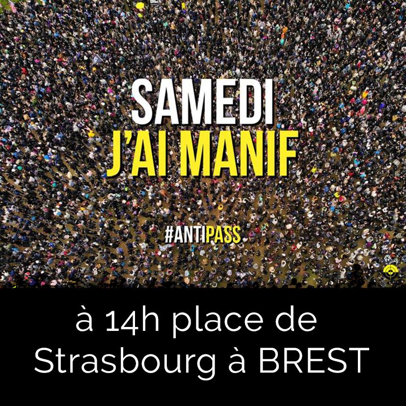 Samedi j'ai manif AntiPass Brest