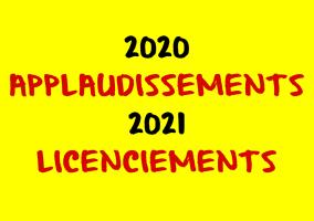 2020 applaudissemnts 2021 licenciements