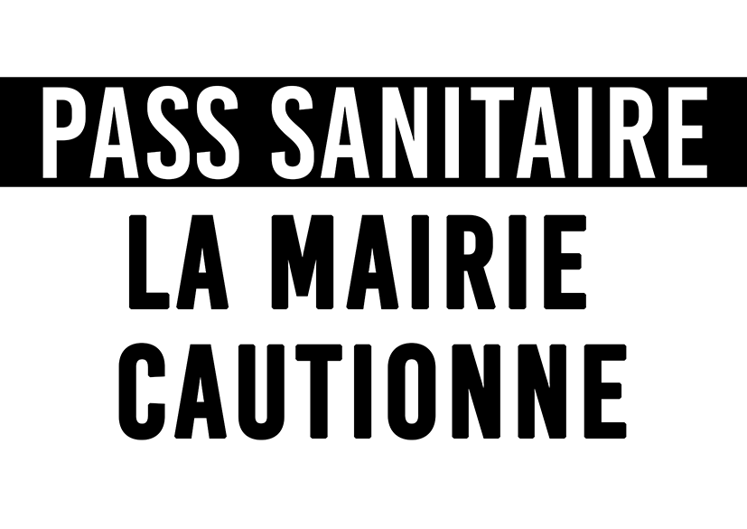 Pass sanitaire La mairie cautionne